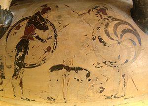 Eurytios Krater - Suicide of Ajax.