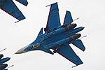 Sukhoi Su-30SM 'RF-81722 - 37 blue' (36746398053).jpg