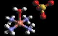 Sulfato de tetraamin cobre(II).png