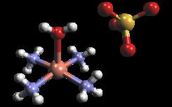 Sulfato De Tetraamín Cobre Ii Wikipedia La Enciclopedia