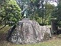 Suminokura Ryoi's Bronze statue.jpg
