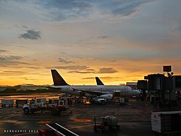 Sunset at MROC (5779033141)