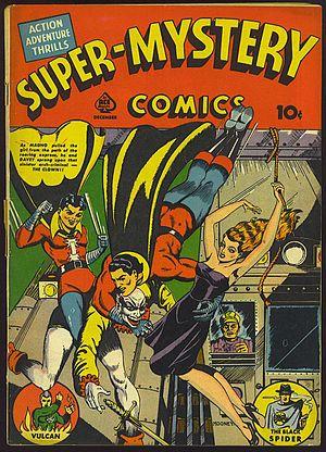 Jim Mooney - Image: Super Mystery Comics v 1n 5