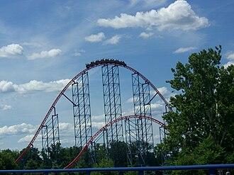 Superman – Ride of Steel - Image: Superman Ride of Steel (Six Flags America) 02