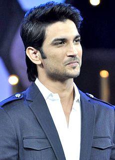 Sushant Singh Rajput Indian actor