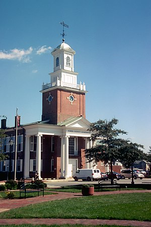 Sussex County Courthouse in Georgetown, , , bu...