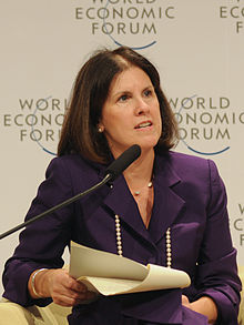 Suzanne Nora Johnson at the World Economic Forum Summit on the Global Agenda 2008 cropped.jpg