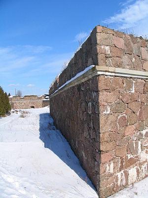 Svartholm fortress - Image: Svartholma bastionit