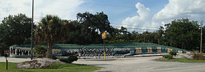 "Christmas, Florida - ""Swampy"", the World's Largest Gator, at Jungle Adventures Nature Animal Park"