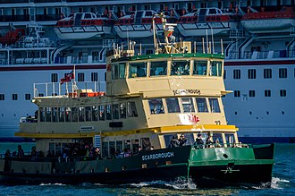 Harbour City Ferries - Image: Sydney Ferry Scarborough 2