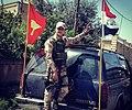 Syriac-Aramean soldier in Bakhdida, Iraq.jpg