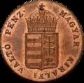 Szh 1 krajczár 1848 obverse.png