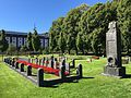 Tønsberg Old Cemetery Norway Commonwealth War Graves Commission British WWI memorial 1916 WWII graves 1945 2016-08.jpg