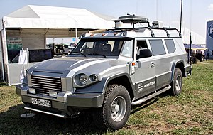 T98 Kombat chassis - MAKS 2011.jpg