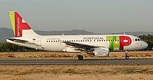 A319 a Faro, Algarve.