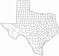 Location of Dodson, Texas