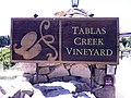 Tablas Creek Vineyard sign.jpg