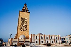EL Seed - Jara Mosque in Gabes, Tunisia, 2012