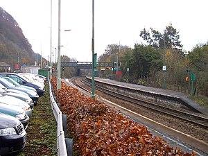 Taffs Well railway station - Image: Taff's Well railway station