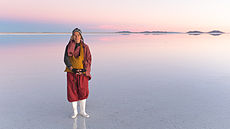 Taiwanese Monk at the Salar of Uyuni, Bolivia.jpg