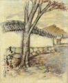 TakehisaYumeji-1920-White Walls in Nara.png