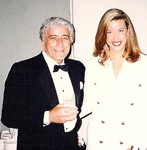 Tamara Gee - Gee and Tony Bennett