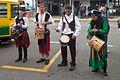 Tamborileiros na Festa dos Piratas do Grove. Galiza.jpg