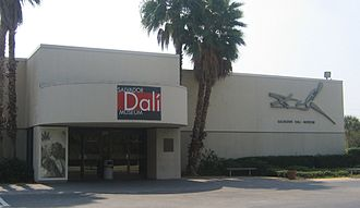 Salvador Dalí Museum - The old Salvador Dalí Museum facility