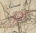 Tarnów na mapie płk Siegera i ppłk Miega 1779-1782.JPG