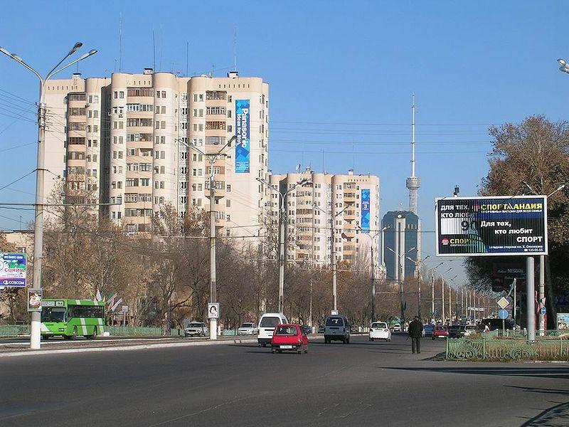 File:Tashkent street view.jpg