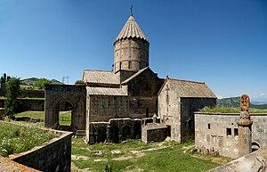 Tatev Monastery - Image: Tatev Monastery closeup