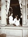 Tatiana and Anastasia Nikolaevna at the Lower dacha in Peterhof.jpg