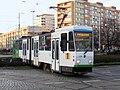 Tatra KT4DtM 128, tram line 1, Szczecin, 2020.jpg
