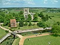 Tattershall Church from the top of the Castle - geograph.org.uk - 1063017.jpg