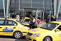 Taxis at Sofia Airport 20090409 004.JPG