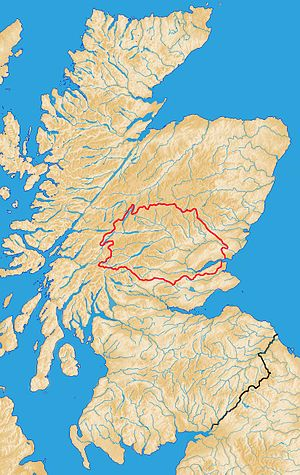 River Tay - Catchment of the River Tay within Scotland.