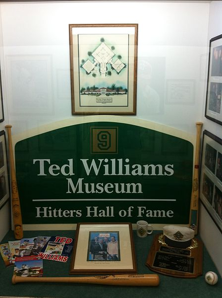 File:Ted Williams Hitters Hall of Fame.JPG