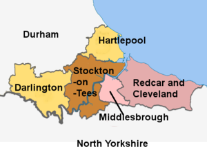 Stockton on tees cleveland united kingdom