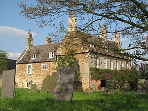 Teigh - Teigh Old Rectory was used for the filming of the BBC version of Pride and Prejudice (1995); it served as Hunsford parsonage, Mr Collins's modest home