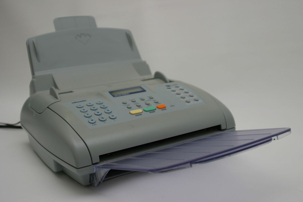 fax simple english wiktionary