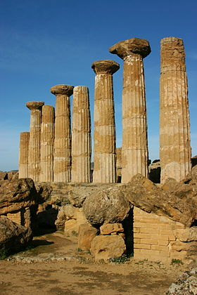 Temple of Heracles - Agrigento - Italy 2015 (2).JPG