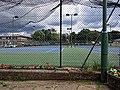 Tennis court at Highgate Cricket and Lawn Tennis Club, Crouch End, London 02.jpg