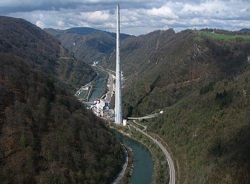 Termoelektrarna Trbovlje in Sava IMG 2581.jpg