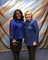 Terri Sewell and Hillary Clinton - 2019.jpg
