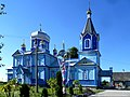 Teslugiv Radyvylivskyi Rivnenska-Dmytra Solunskogo church-general view.jpg