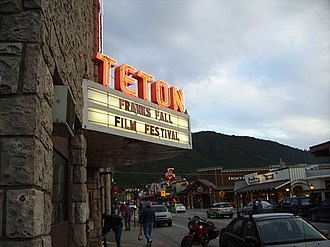 Jackson, Wyoming - Teton Theater