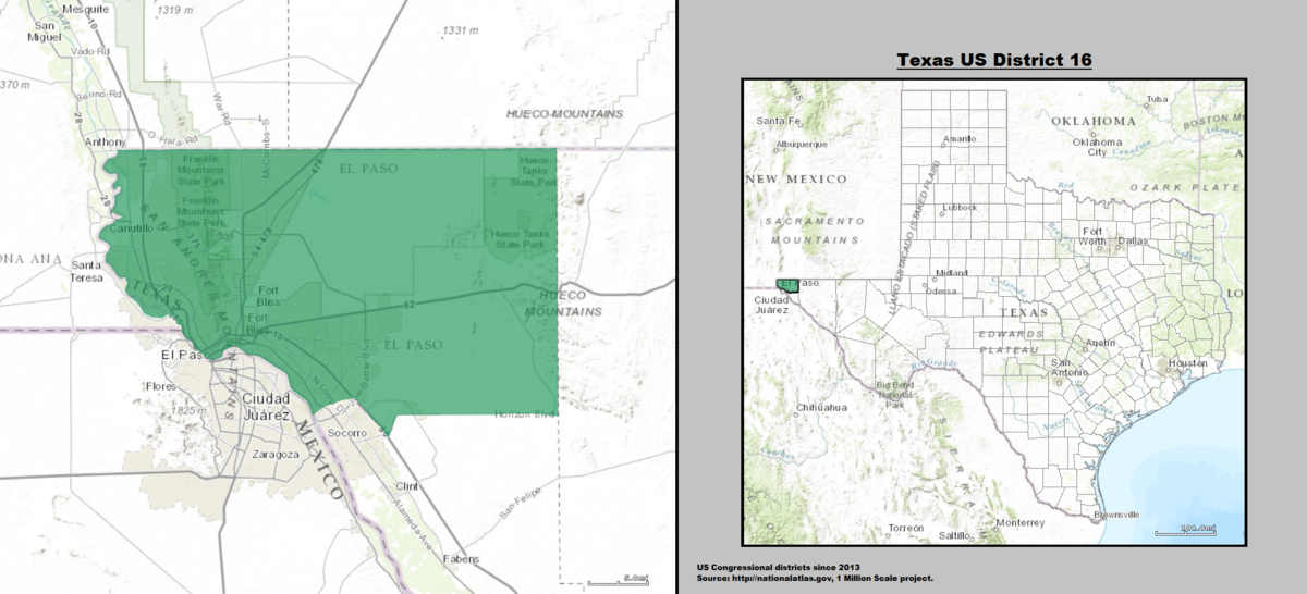 Texass Th Congressional District Wikipedia - Texas us map