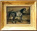 Théodore géricault, cavallo turco in una scuderia, 1810-12 ca.jpg