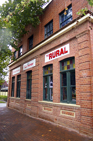 The Daily Advertiser (Wagga Wagga) - Former The Daily Advertiser headquarters