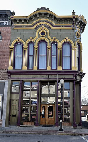 National Register of Historic Places listings in St. Joseph County, Michigan - Image: The Art Gallery Building